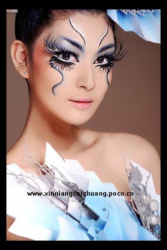 2009年化妆杯大赛冠军作品棚葱视频扒图片