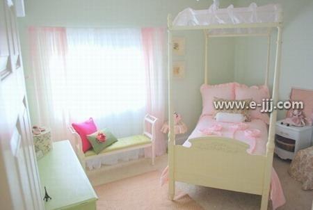 淡粉卧室装修效果图