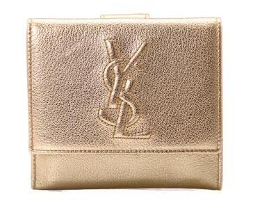 舒适折叠式米黄色钱包