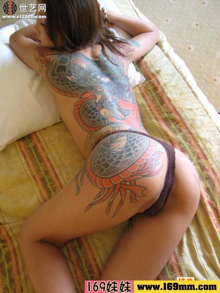 日本纹身艺术的社会渊源
