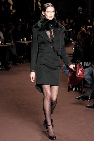 60年代复古风格loewe2010秋冬女装发布
