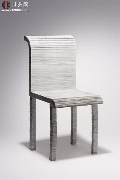 这是用纸做雕塑,再与平面设计和摄影相结合的有趣的