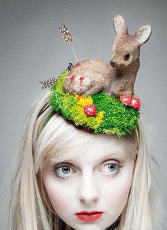 立体动物造型帽子(童心未泯到可怕)