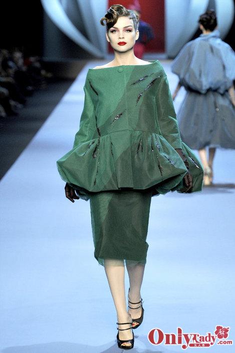 美艳宫廷服 Dior2011春夏高级定制系列