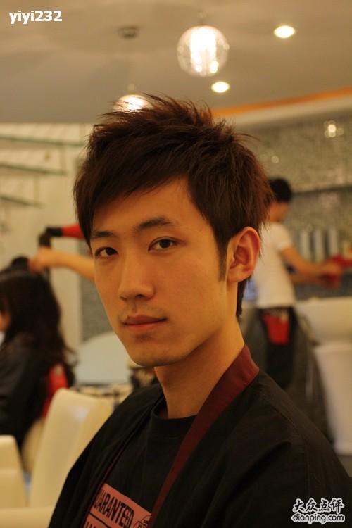 日式男士发型图片